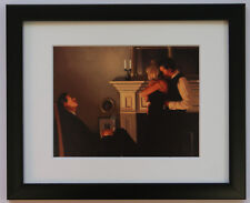Jack Vettriano - Beautiful Losers II- Framed & Mounted Print Thin Black FREE P+P