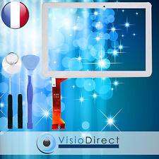 Vitre ecran tactile pour Asus Memo Pad ME102 ME102A blanc + outils