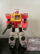 Transformers Generations Titans Return Autobot Blaster and Twin Cast~