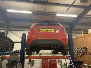 MK7 & MK7.5 Ford Fiesta 1.4 PERFORMANCE EXHAUST - BACK BOX MUFFLER DELETE