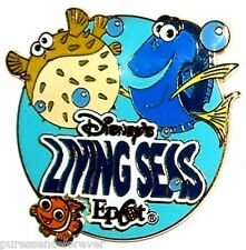 WDW Epcot The Living Seas: Nemo, Dory & Bloat Pin