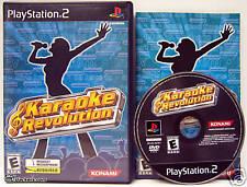 Karaoke Revolution (PlayStation 2) RARE CIB!!!