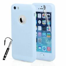 For Apple iPhone SE 5S 5 Gel Case Saves & Dots S Line Silicone Cover