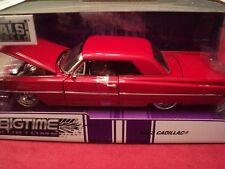 Jada 1963 Cadillac Series 62 1/24 scale, nib 2018 release red exterior