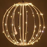 LED Fairy Light Ball Indoor Outdoor Christmas Patio Hanging Sphere Decorations
