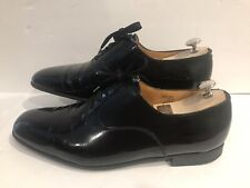 J.M. Weston Black Leather Derby Men's Size 9.5 D 206-10