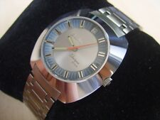 FABULOUS NOS 60'S SS ENICAR SHERPA STAR AUTOMATIC DATE - VERY RARE         #6294