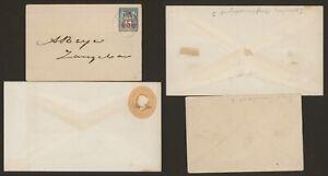 Zanzibar - Lot of 2 Postal Stationery V910