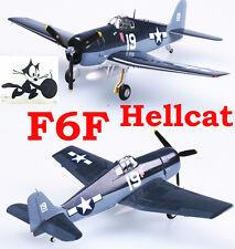 Easy Model 1/72 USAF F6F-5 Hellcat VF-6 USS Intrepid 1944 Fighter Model #37298