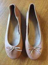 New Look Synthetic Leather Ballet Flats for Women