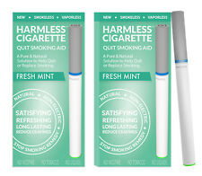 Harmless Cigarette Quit Smoking Aid Fresh Mint Flavored 2 Pack