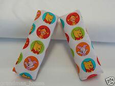 Baby Seat Belt Strap Covers Car Highchair Stroller Pram - Winnie The Pooh