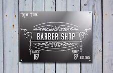 Barber Shop Sign, Metal Sign, Barber Shop Signs, Modern Style, Barber Shop, 851