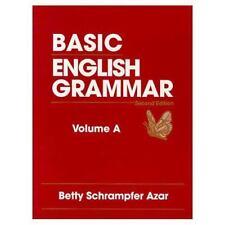 Basic English Grammar, Book A by Azar, Betty S.
