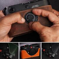 Genuine Leather Half Case Camera Body Case For Leica M7 M6 Cover Handmade New