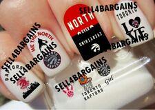 NBA Toronto Raptors Basketball Logos》10 Different Designs》Tattoo Nail Art Decals