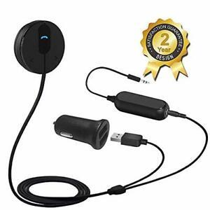 Besign BK01 Bluetooth 4.1 Car Kit Hands-Free Wireless Talking & Music Streaming