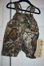Bass Pro Camo Overalls 9 Months RealTree New With Tags