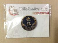 SEGA Ryu ga Gotoku Yakuza Omi Union Emblem Pins Game Japan New