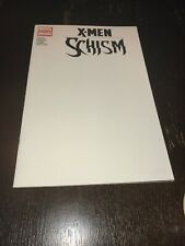 X-Men Schism Blank Cover Marvel Comics First Issue