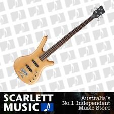 Warwick RockBass Corvette 4 Basic Electric Bass Guitar Honey Violin *NEW*