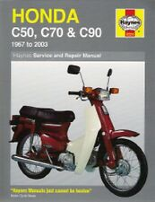 1967-2003 Honda C50 C70 C90 Repair Manual 2002 2001 2000 1999 1998 1997 96 3759