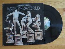 MICK BOX of URIAH HEEP signed WONDERWORLD 1972 Album / Record COA