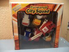 "Company 6 City Squad Friction Power Trucks Plastic 3"" Nib Fire Police Ambulance"