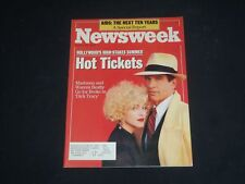 1990 JUNE 25 NEWSWEEK MAGAZINE -MADONNA & WARREN BETATTY IN DICK TRACY - NW 429