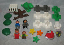 Lego Duplo Theatre Set - Parts to 3615 Incomplete - 4 Figures, Ghost, Frog