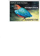 PNG  1986 Small Birds AMERIPEX Presentation  Pack - Mint Never Hinged