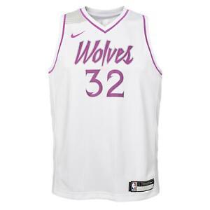 Nike NBA Youth Minnesota Timberwolves Towns #32 Swingman City Edition Jersey