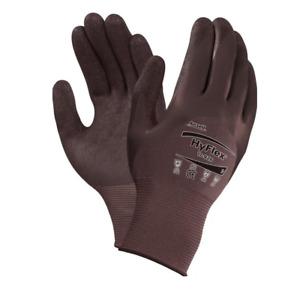 1-12 Ansell HyFlex 11-926 Schutzhandschuhe mit Nitrilbeschichtung Größe 6-11