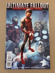 ULTIMATE FALLOUT #4 MARK BAGLEY 2ND PRINTING VARIANT COVER VF+ 1ST MILES MORALES