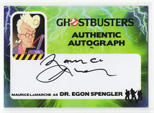2016 Cryptozoic Ghostbusters Maurice LaMarche as Egon Spengler Autograph Card SP