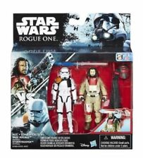 "Baze Malbus Stormtrooper Officer Star Wars Rogue One 3.75"" Action Figure 2 Pack"