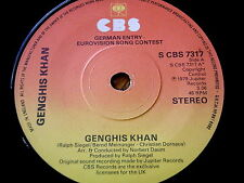 """Gengis Khan-GENGIS KHAN 7"""" in vinile"""