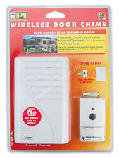HPM Battery Operated Wireless Door Chime Up to 70 metres Range D641/BLR