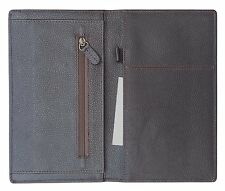 Genuine Leather Waiter Organiser/Server Book / Waiter Service wallet/ -Brown