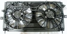 Dual Radiator Condensor Electric Fan Assembly Chevy Impala Monte Carlo 3.4 3.8L
