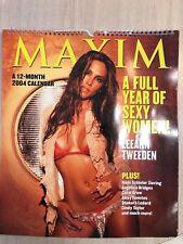 Maxim 2004 Calendar 15x13 - Gorgeous!