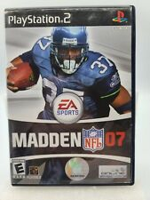 EA Sports Madden NFL 07 PlayStation 2 PS2 Game Complete With Manual TESTED