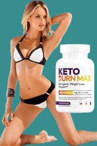 KETO BURN MAX Ketogenic Weight Loss Support  60 CAPSULES