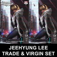 Amazing Spider-Man #47 Jeehyung Lee Gwen Stacy Virgin Variant Set Preorder NM