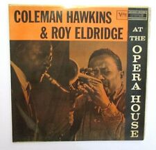 COLEMAN HAWKINS and ROY ELDRIDGE - AT THE OPERA HOUSE - VERY RARE 1958 AUSSIE LP
