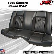 1969 Chevy Camaro COUPE - Sport R - Rear Seat Upholstery Kit w/ Foam - TMI