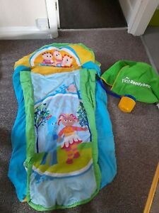 Toddler air camp Ready Bed In The Night Garden Covers Bag Pump Spares Repairs