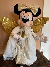 RARE Vintage Disney Christmas Animated Angel Minnie Mouse