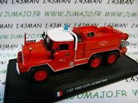PDP8N voiture 1/57 DEL PRADO Pompiers du Monde : CCFL Acmat 6X6 1985 Cernay