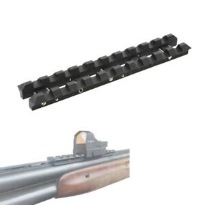 Russian steel MP-27,MP-153,shotgun ventilated rib rail 7 mm Weaver mount adapter
